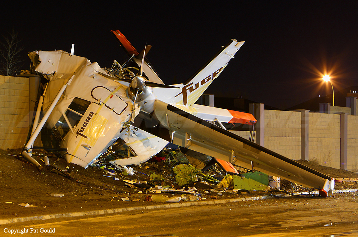 Crash Of A Casa 212 Aviocar In Saskatoon 1 Killed