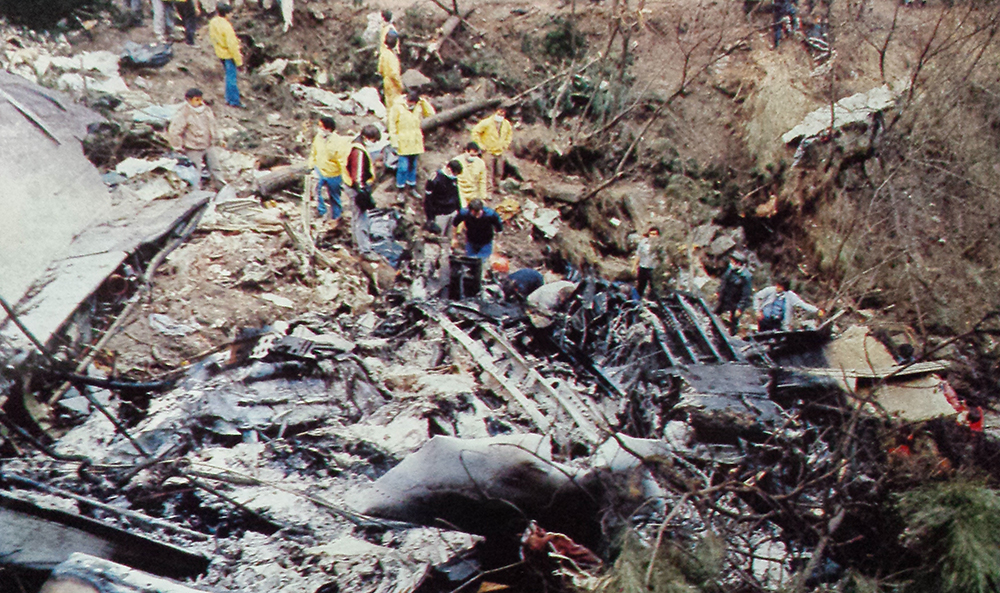 crash of a boeing 727200 in bilbao 148 killed bureau
