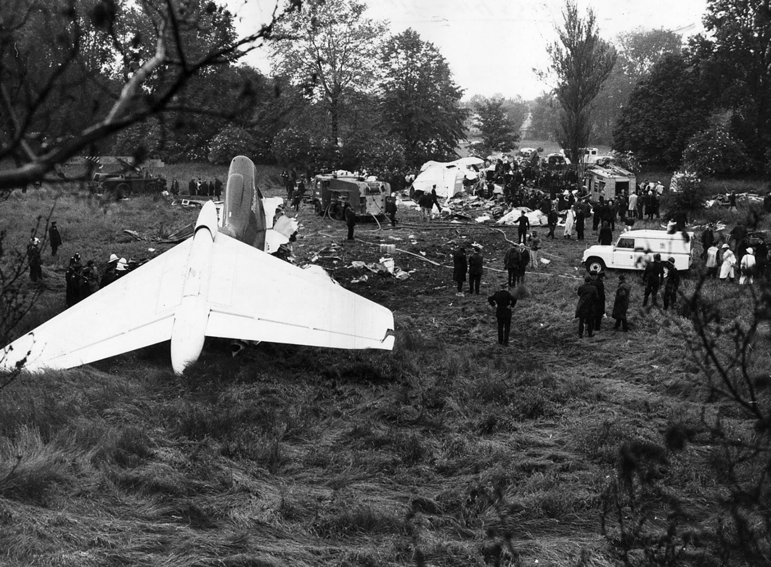 Crash Of A Hawker Siddeley Hs121 Trident 1c In London 118 Killed Crashed Aircraft Beacon