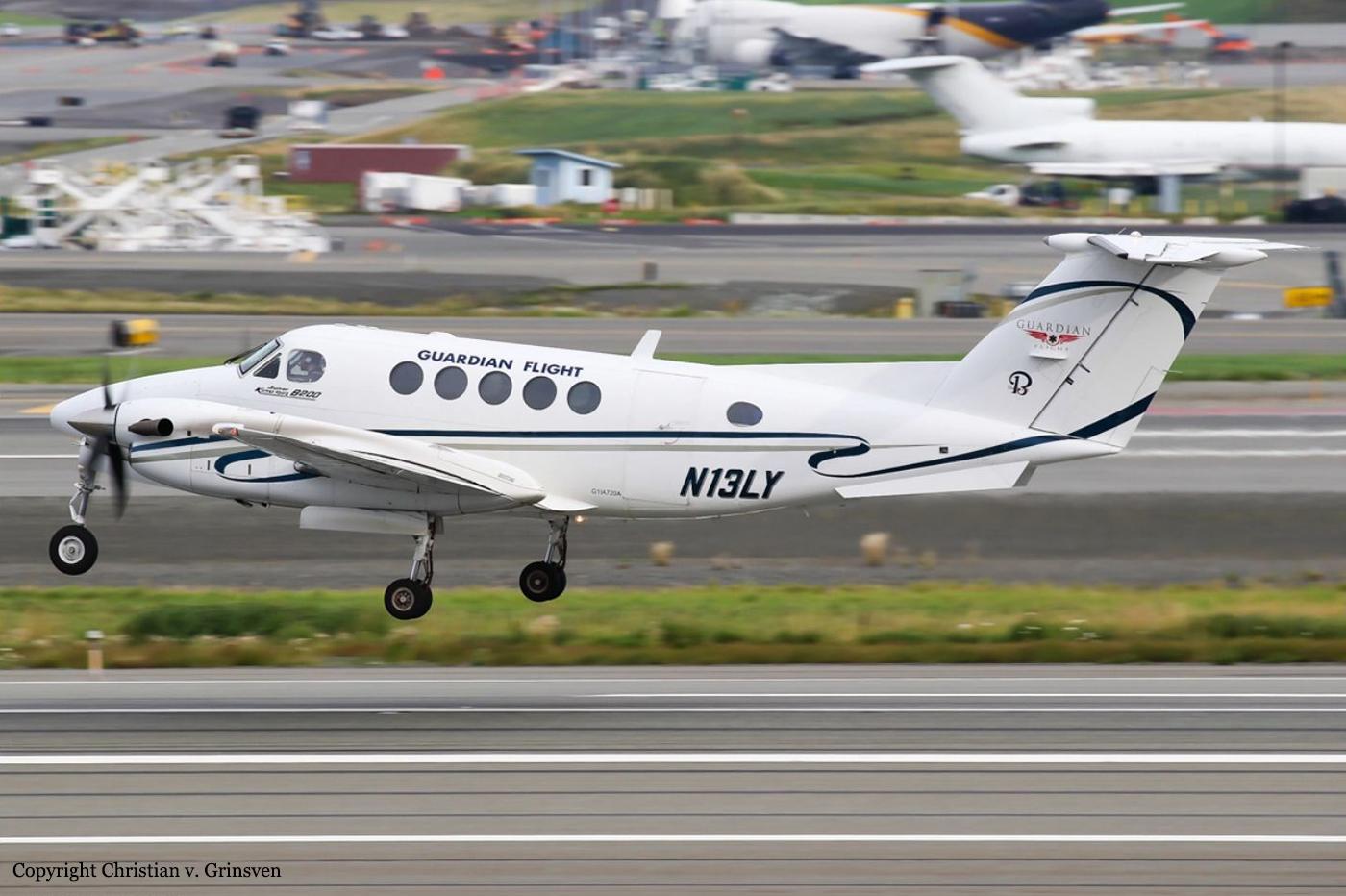 Crash of a Beechcraft B200 Super King Air off Kake: 3 killed