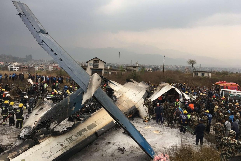 Crash Of A De Havilland Dhc 8 Q402 Dash 8 In Kathmandu 51 Killed Bureau Of Aircraft Accidents Archives