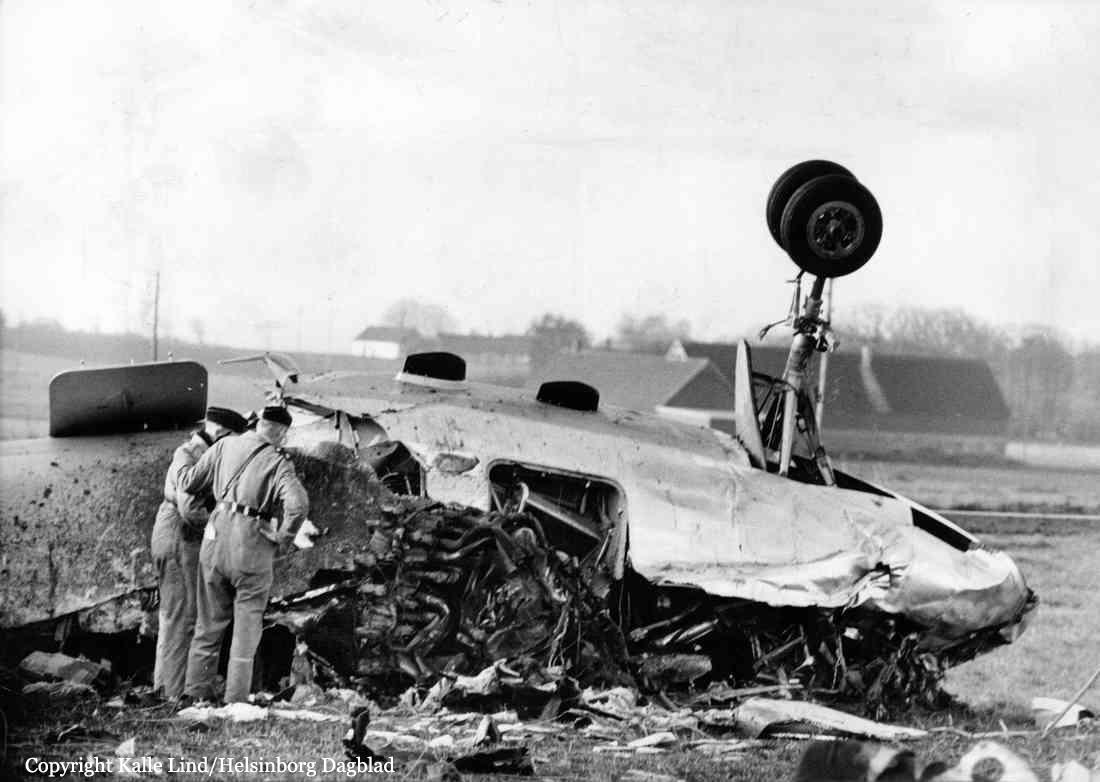 Crash of a Convair CV-440 Metropolitan in Ängelholm: 31 killed