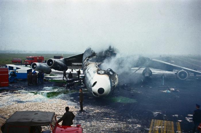 Crash Of A Douglas Dc