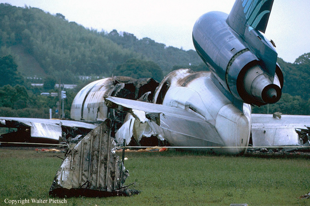 Crash of a Douglas DC-10 in Fukuoka: 3 killed | Bureau of ...