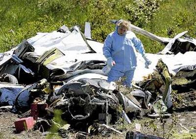 Crash of a Mitsubishi MU-2 Marquise in Hillsboro: 4 killed | Bureau
