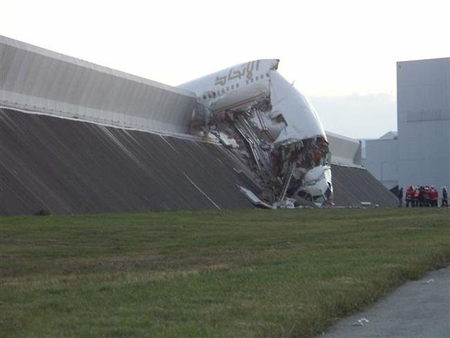 World biggest plane crash video
