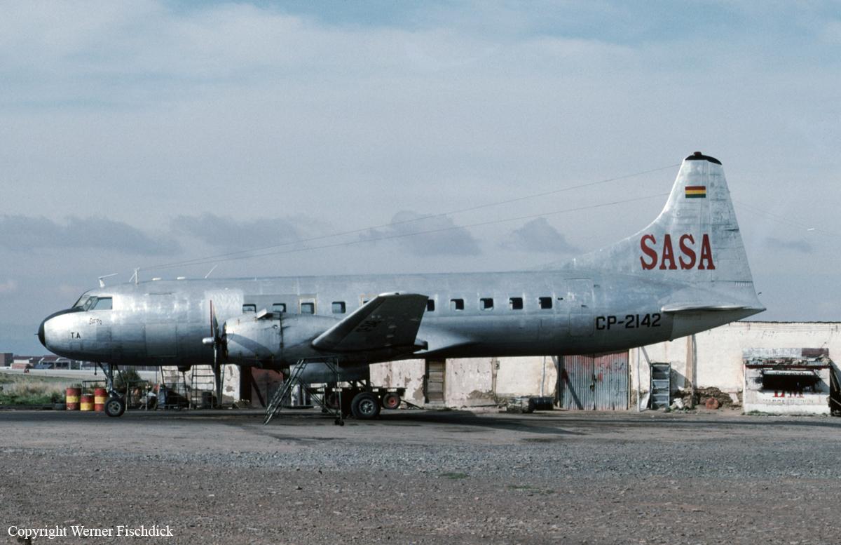 Crash of a Convair CV-440 Metropolitan in San Borja: 1 killed