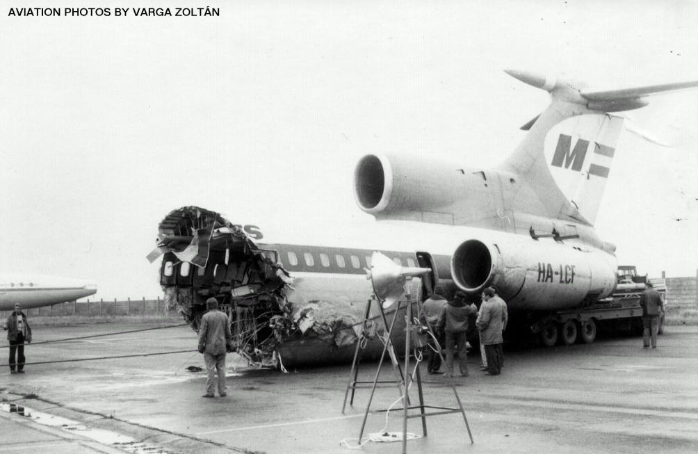 Crash Of A Tupolev Tu