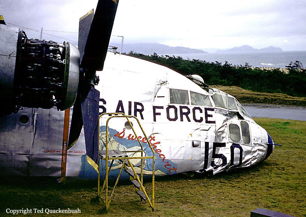 Crash of a Fairchild C-119G Flying Boxcar at Ashiya AFB ...