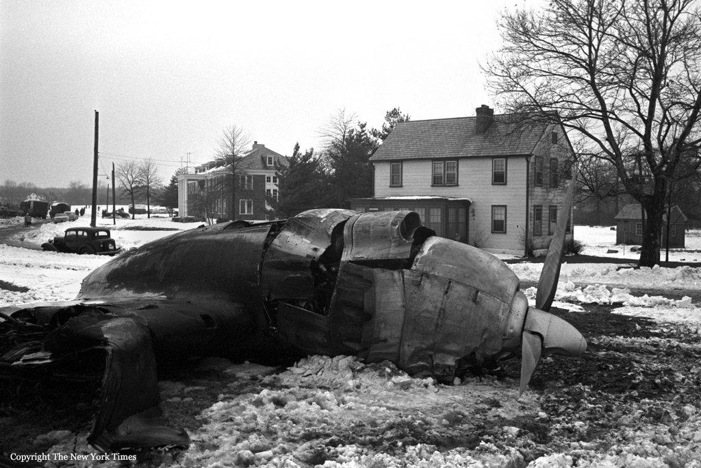 Crash Of A Lockheed L 1049 Super Constellation In New York