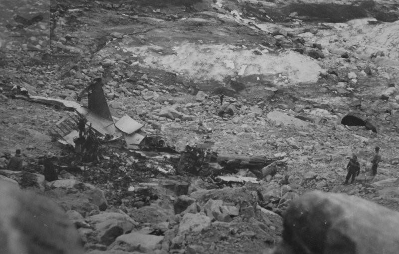 Crash Of A Douglas C 47a 35 Dl On Mt La Gotera 24 Killed