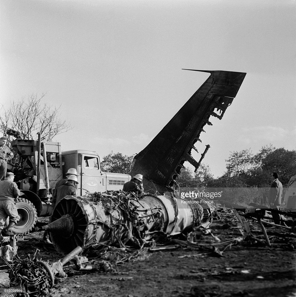 Crash Of A Boeing 707 328 In Paris 130 Killed Bureau Of Aircraft Accidents Archives