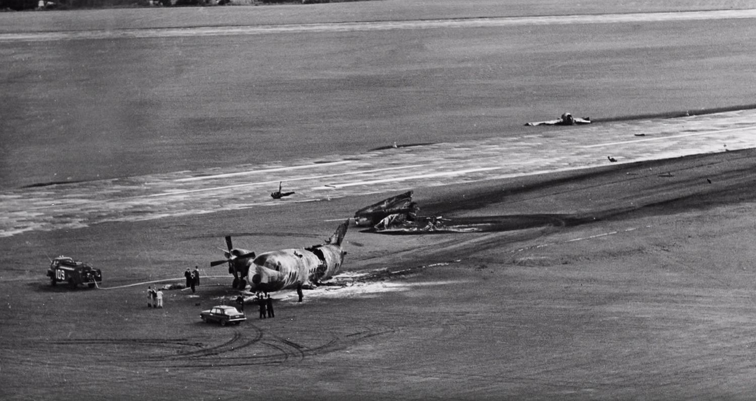 crash of a lockheed l188c electra in whenuapai bureau