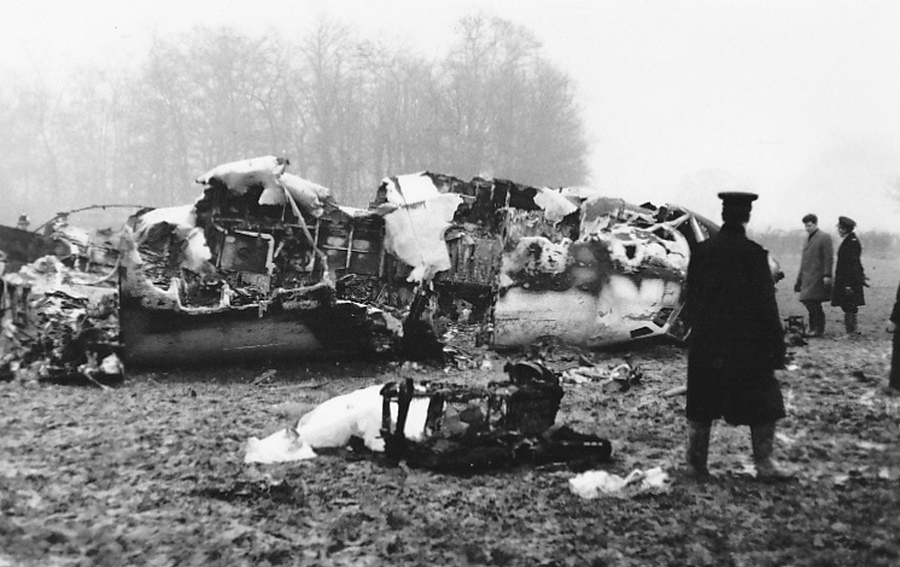 Image result for gatwick crash january 5 1969 images