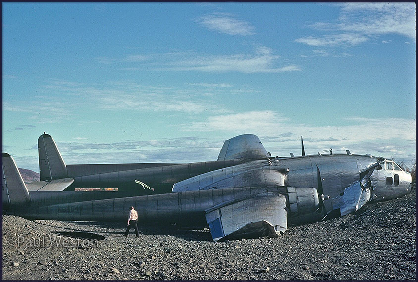 Crash of a Fairchild C-119 Flying Boxcar in Dahl Creek ...