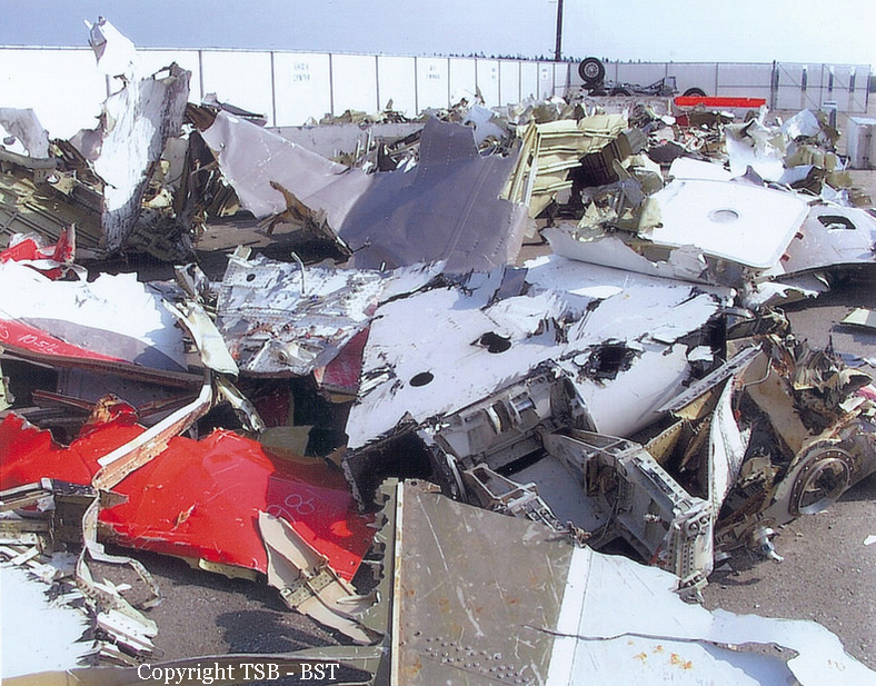 Crash of a McDonnell Douglas MD-11 off Halifax: 229 killed ...