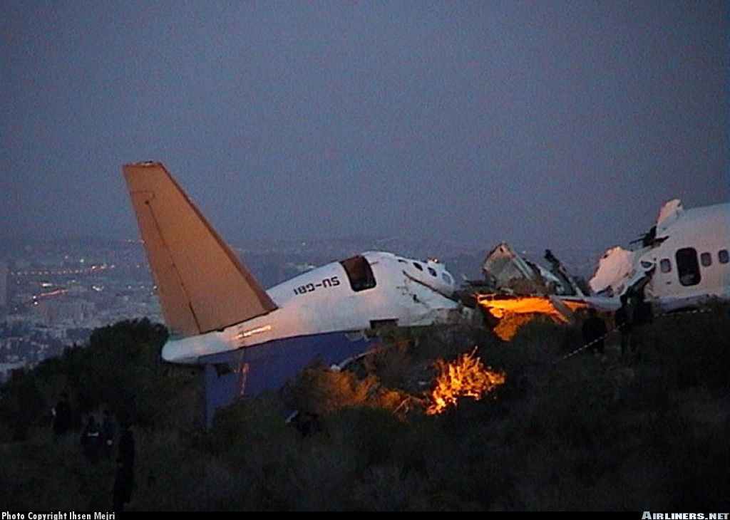 Crash Of A Boeing 737 500 In Tunis 14 Killed Bureau Of Aircraft Accidents Archives