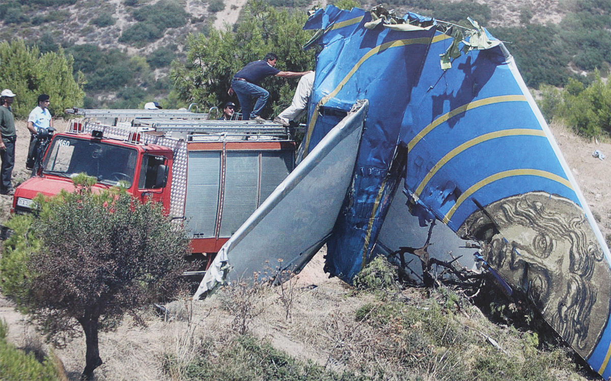 Crash Of A Boeing 737 300 Near Athens 121 Killed Bureau