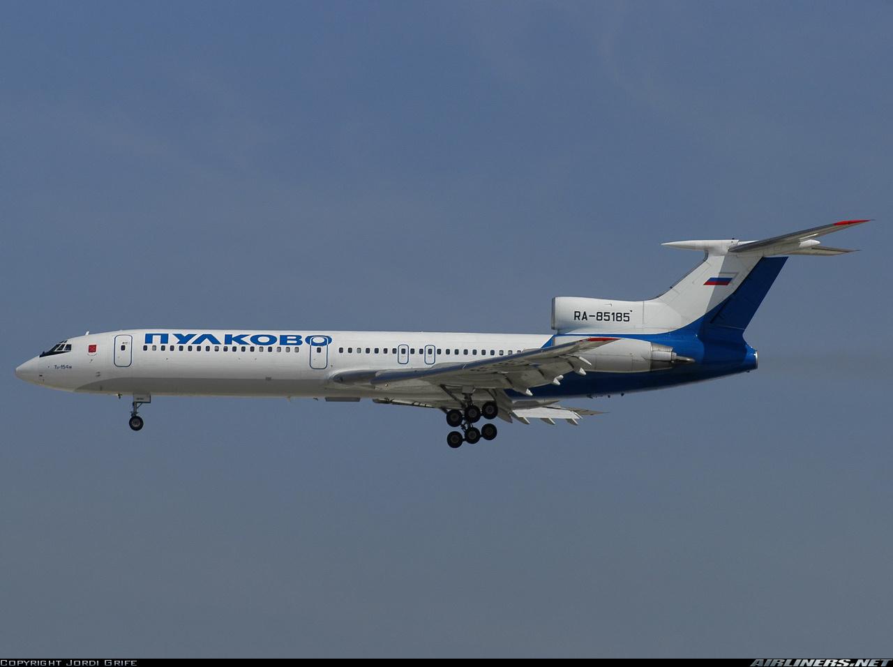 154 della Rossiya OVP 355 1587 Tupolev TU Schabak 1:600
