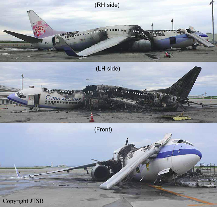 Crash Of A Boeing 737 800 In Naha Bureau Of Aircraft