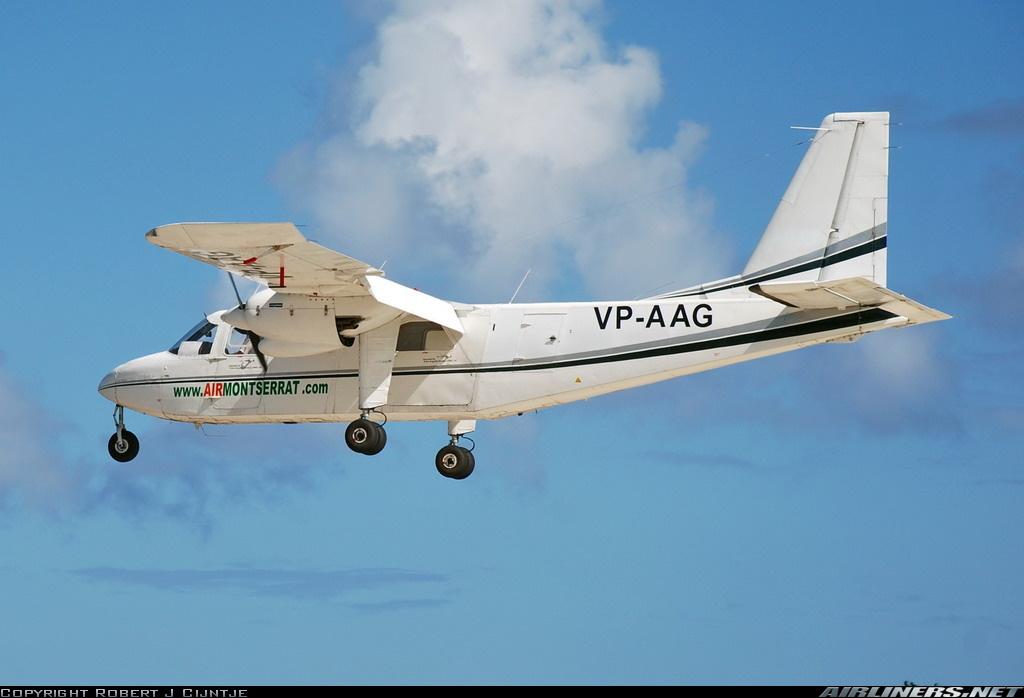 Crash of a Britten-Norman Islander in Anguilla | Bureau of Aircraft