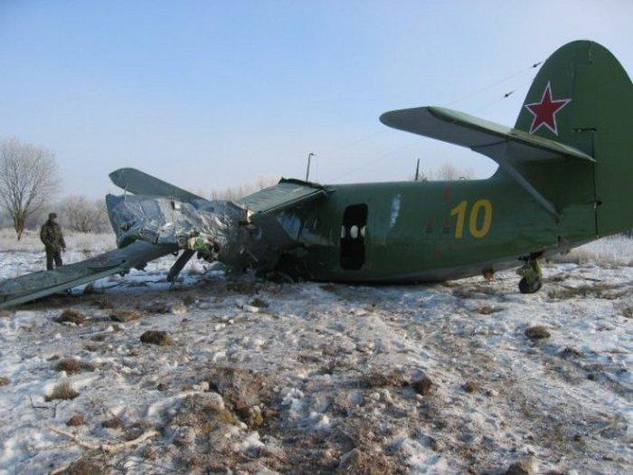 Crash of an Antonov AN...