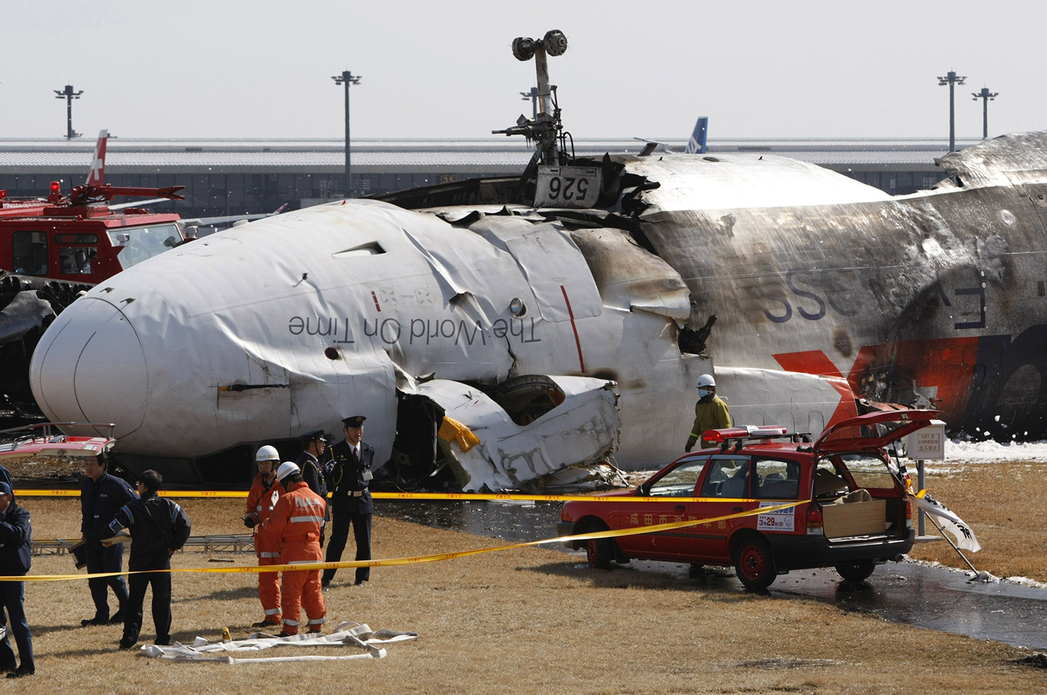 Crash Of A Mcdonnell Douglas Md 11 In Tokyo 2 Killed