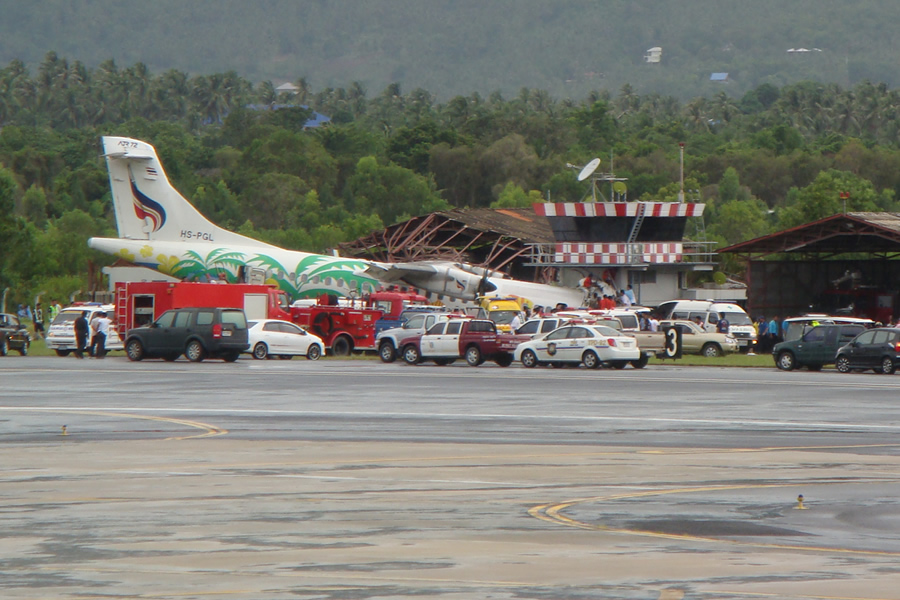 Crash of an ATR72-212A in Koh Samui: 1 killed   Bureau of