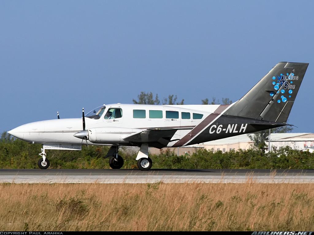 Crash of a Cessna 402C in Nassau: 9 killed