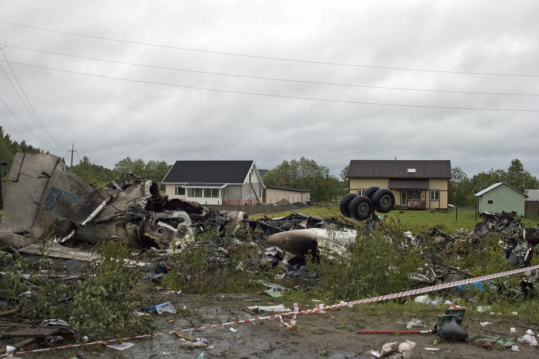 Crash of a Tupolev TU-134A-3 in Petrozavodsk: 47 killed | Bureau ...
