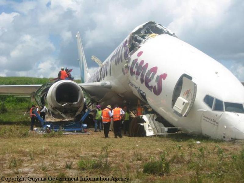 Crash of a Boeing 737-8BK in Georgetown | Bureau of Aircraft