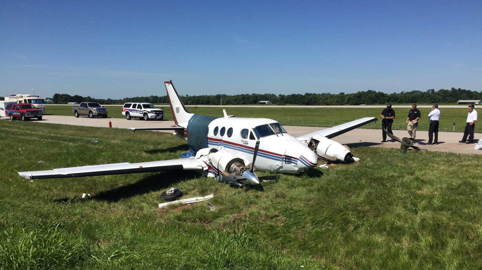 Crash of a Beechcraft King Air C90B in Georgetown | Bureau