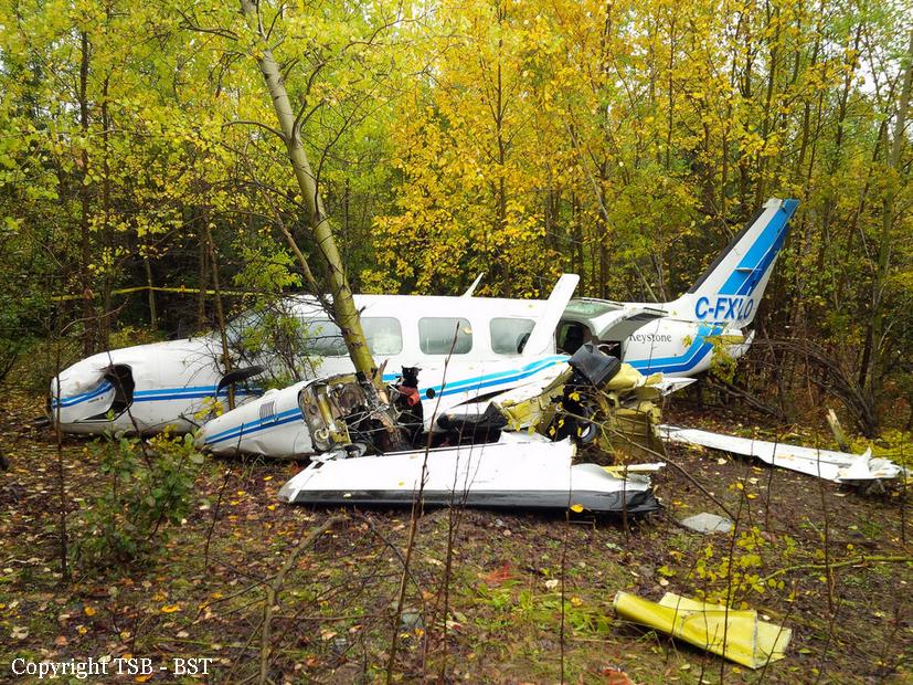 crash of a piper pa