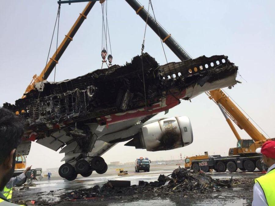Crash Of A Boeing 777 31h In Dubai Bureau Of Aircraft
