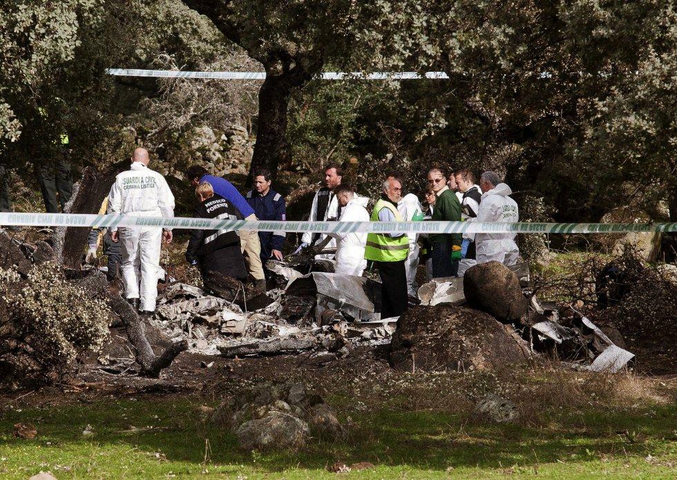 Crash Of A Beechcraft King Air E90 In Sotillo De Las Palomas 4