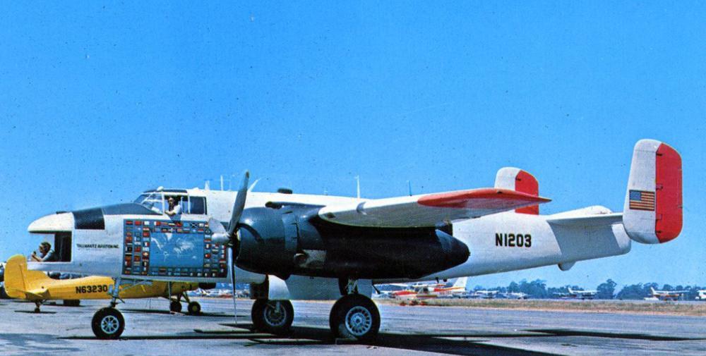 Crash of a North American B-25H Mitchell in Guachaca: 1