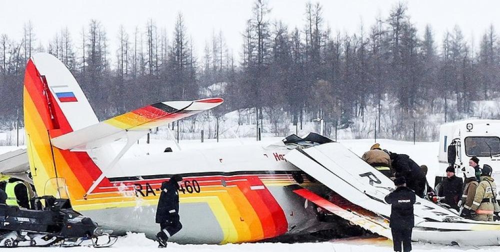 Crash of a PZL-Mielec AN-2MS in Naryan-Mar: 4 killed