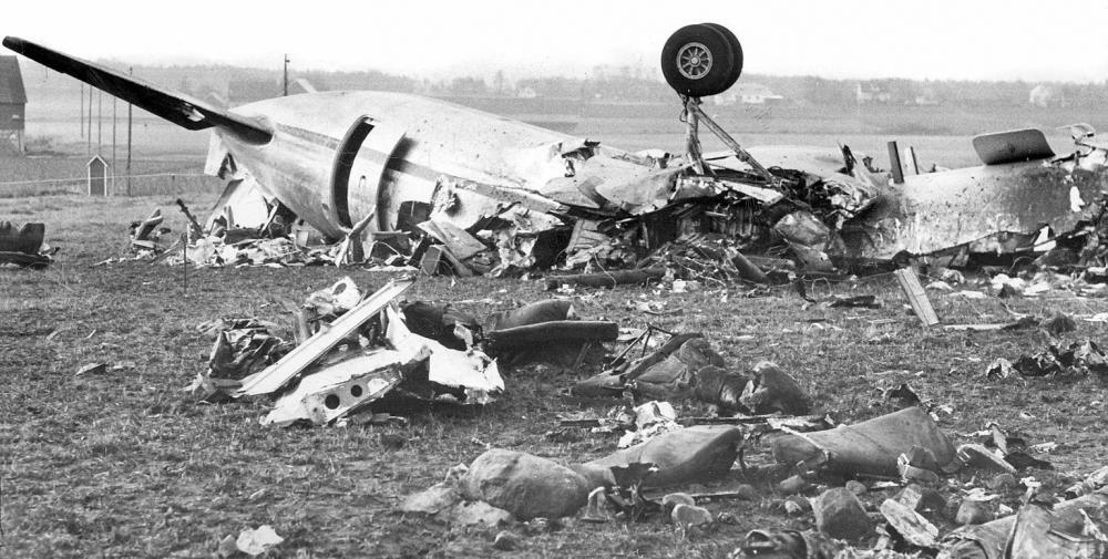 crash of a convair cv