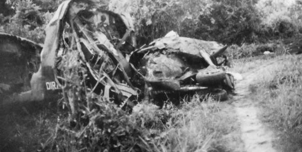 Crash of a De Havilland DHC-4 Caribou in Simanggang | Bureau