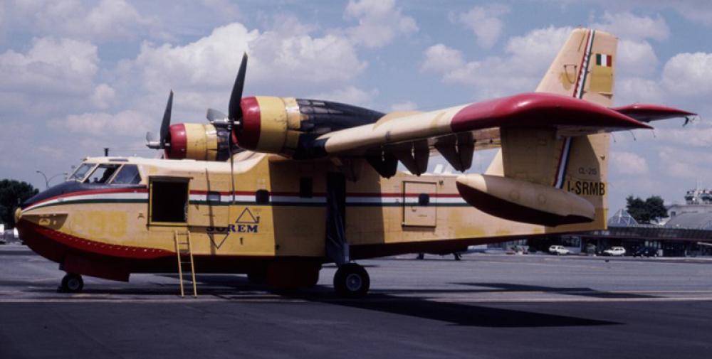 Crash of a canadair cl in portugal bureau of aircraft