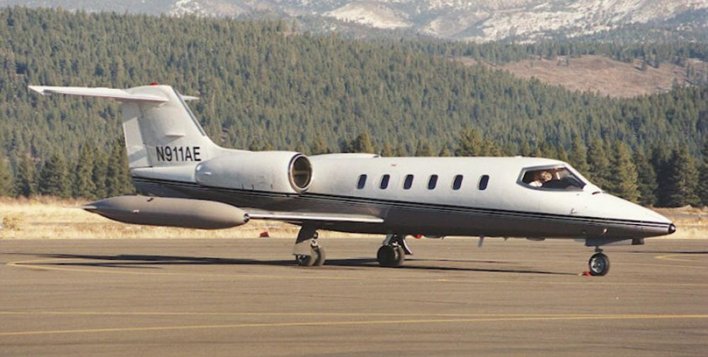 Crash of a Learjet 35 in Kansas City | Bureau of Aircraft Accidents