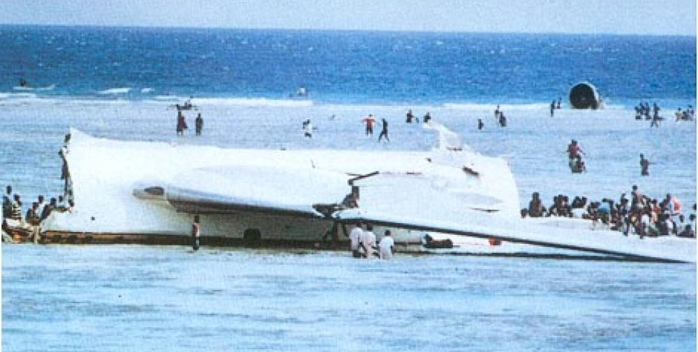 Crash of a Boeing 767 in Moroni: 125 killed   Bureau of
