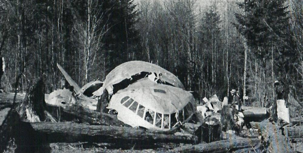 Crash Of A Boeing 307 Stratoliner Near Alder  10 Killed