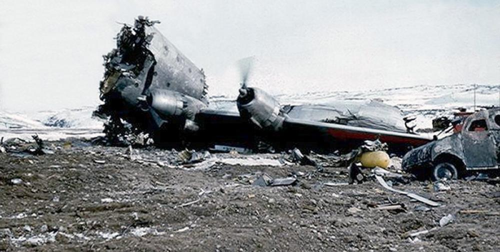 Crash Of A Douglas C 124c Globemaster Ii In Frobisher Bay