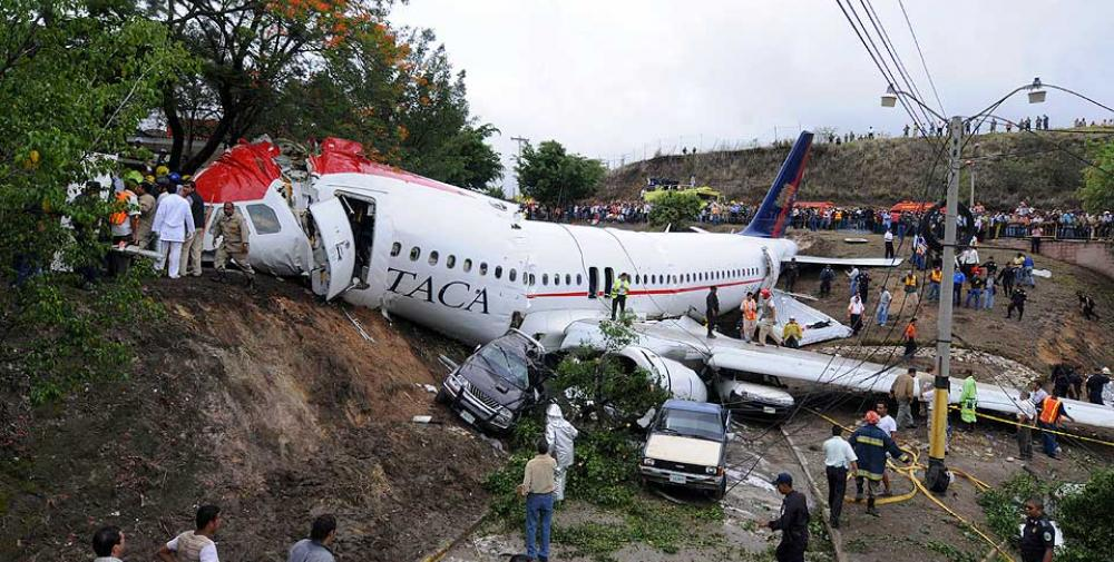 Crash Of An Airbus A320 233 In Tegucigalpa 5 Killed