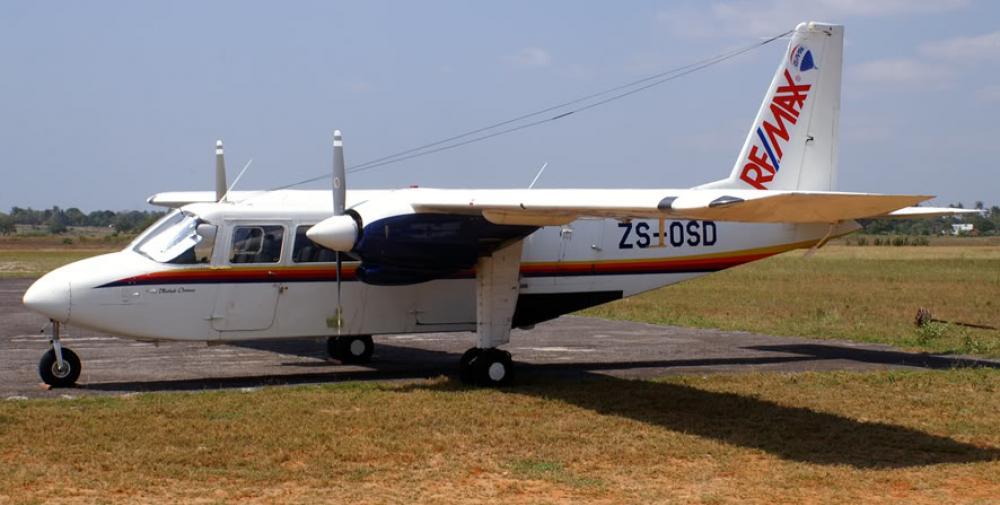 Crash of a Britten-Norman Islander in South Africa: 9 killed