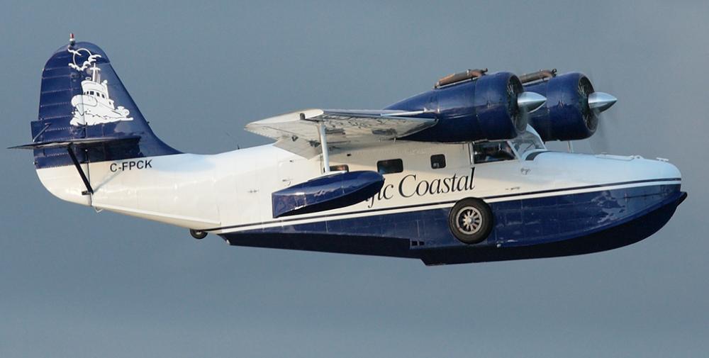 Crash of a Grumman G-21A Goose in Thormanby Island: 7 killed