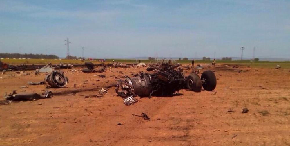 Crash of an Airbus A400M in Seville: 4 killed | Bureau of