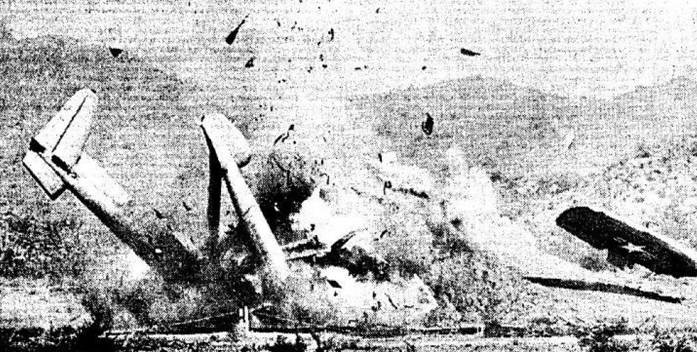Crash of a Fairchild C-119C Flying Boxcar in Deer Valley ...